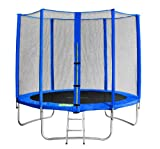 SixBros. SixJump 1,85-4,60 M Gartentrampolin versch. Farben/Größen Trampolin Komplettset