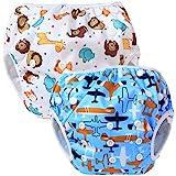 Teamoy 2-teilig Baby Schwimmhose, Bequem, waschbar und verstellbar, ideal für Schwimmen Lektionen oder Urlaub