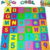 Deuba Puzzlematte 86 tlg. | Kälteschutz | abwaschbar | Achtung Modell 10/2018 | Kinderspielteppich Spielmatte Spielteppich Matte