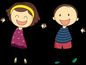 Froehliche-Kinder