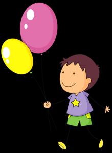 Kind-mit-Luftballons
